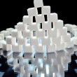 Stock Photo: Sugar cubes