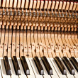 Piano construction — Stockfoto
