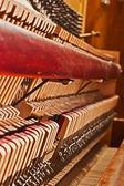 Piano construction — Stock Photo