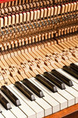 Piano construction — Stock fotografie