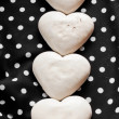Valentines sweet hearts — Stock Photo #8960332