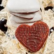 Stock Photo: Valentines sweet hearts