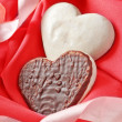 Valentines sweet hearts — Stock Photo
