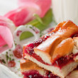 Cakes with jam and  milk — 图库照片