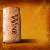 Corcho del vino — Foto de Stock