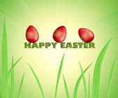 Easter greeting card — Foto Stock