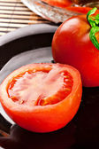 Red tomato vegetable — Stock Photo