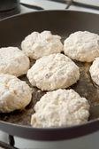 Sweet cheese pancakes — Stock Photo