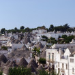 Stock Photo: Alberobello panorama