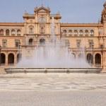 Plaza de Espana (Spain square) in Seville — Stock Photo