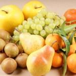 Organic autumn fruits — Stock Photo #8005560
