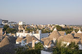 Panoramic view of Alberobello (Apulia, Italy) — Stock Photo