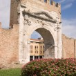 Arch of Augustus in Rimini — Stock Photo #8617761