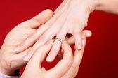 Proposta di fidanzamento — Foto Stock
