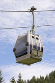 Cable car on a cableway — Stock Photo