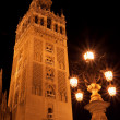 Giraldtower at night — Stock Photo #9020401