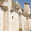 Glimpse of Alberobello - Stock Photo