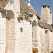 Stock Photo: Glimpse of Alberobello