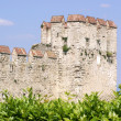 Sirmione castle at Garda lake (Italy) — Foto Stock
