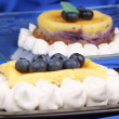 Blueberry cheese cake — Stock Photo #9548198