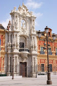 Palacio de San Telmo in Seville — Stock Photo
