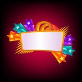 Star banner — Stock Vector