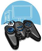 Game controller — Stock Vector