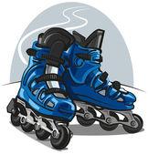 Roller Skates — Cтоковый вектор