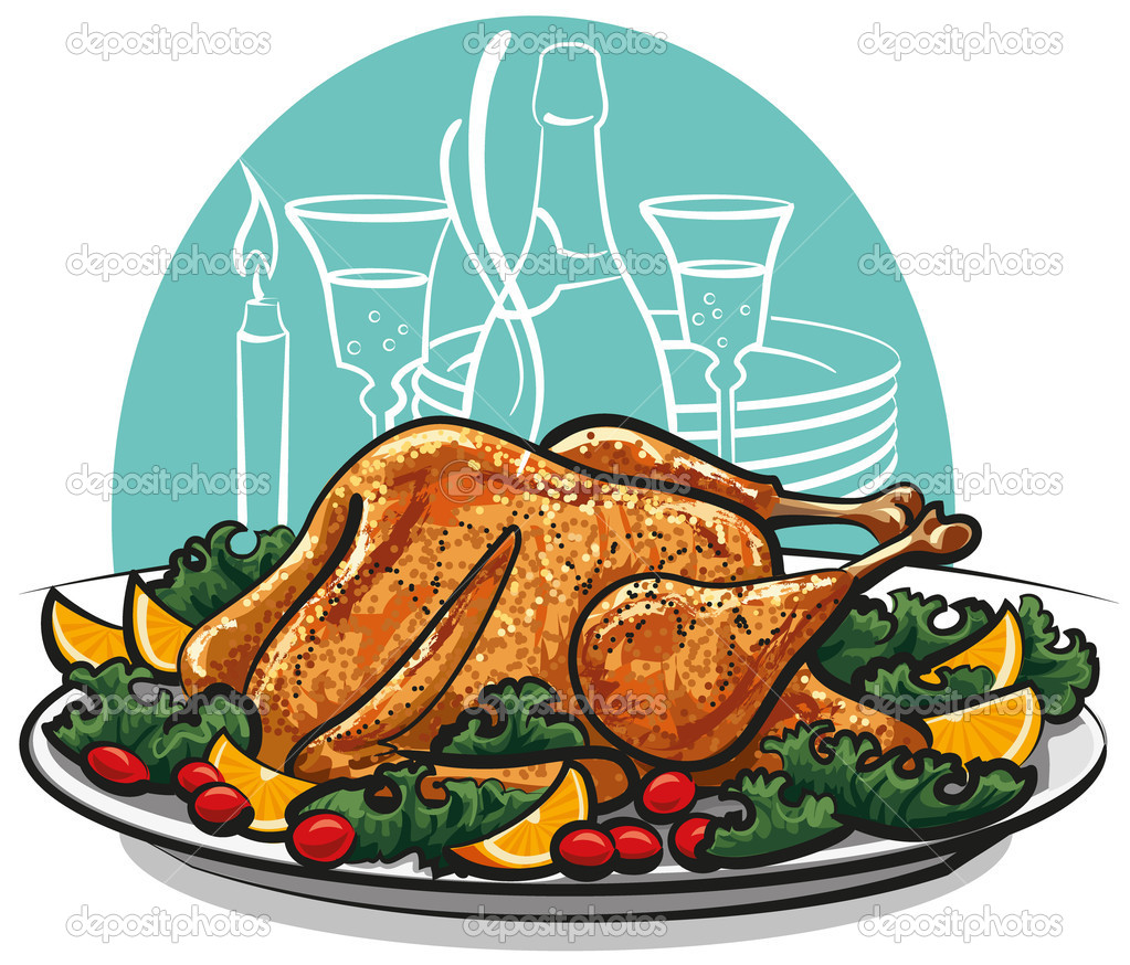 Turkey Dinner Clipart Transparent PNG Clipart Images Free