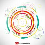 Abstract circles vector background — Stock Vector