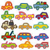 車とトラック — ストックベクタ
