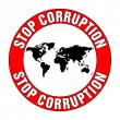 Stop corruption — Stock Vector #10696264