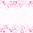 Valentine card background — Imagen vectorial