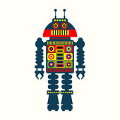 Illustration of robot — Stock Vector