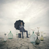 Concept of global warming: Environmental Damage — Stock Photo