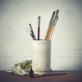 Tools of the painter — Stock Photo