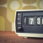 Alarm clock radio — Stock Photo