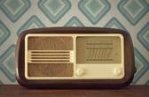 Antique radio — Stock Photo