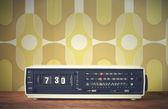 ραδιοφωνο με ξυπνητηρι — Φωτογραφία Αρχείου
