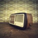 Vintage radio — Stock Photo #10556400