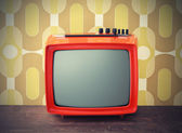 Vintage tv — Stock Photo