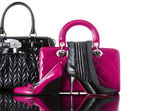 Shoes and handbag, fashion photo — Stock Photo