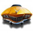 Muscle car, Clipping Path on Vehicle — Stock Photo