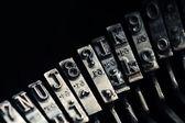Velha máquina de escrever vintage — Fotografia Stock