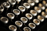 Old Vintage Typewriter — Foto de Stock