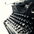 Old Vintage Typewriter — Stock Photo #8739218