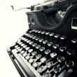 Old Vintage Typewriter — Stock Photo