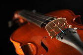 Close up shot of a violin, shallow deep of field — Stock Photo