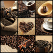 Coffee collage — Stock Photo #9030926