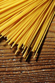 Uncooked spaghetti noodles — Stock Photo